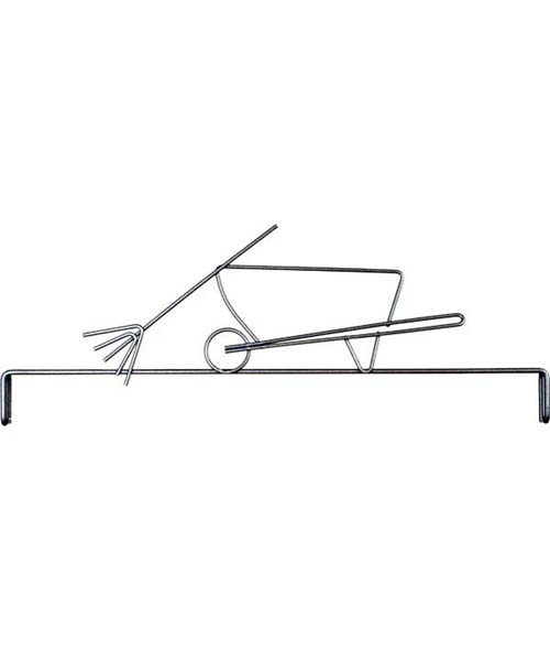 Ackfeld Header 12inch  Wheelbarrow
