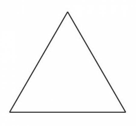 Equilateral Triangle Papers 1-1/2 (50 pcs)