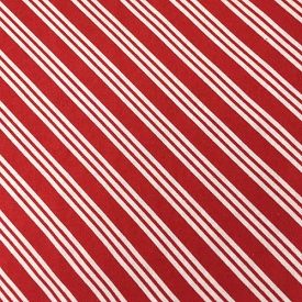 Timeless Treasures Holiday Red/White Diagonal Stripe