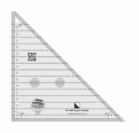 Creative Grids Triangle 45 degree ruler