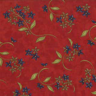 Moda Woodland Summer Cherry 6545-14