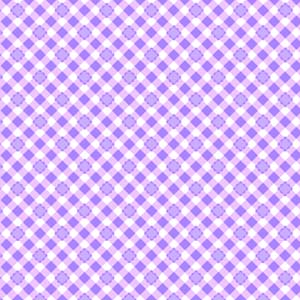Lakehouse Sweet Things Purple Scalloped Gingham