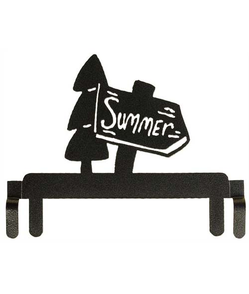 Ackfeld Hanger Split Bottom Summer Sign 6in