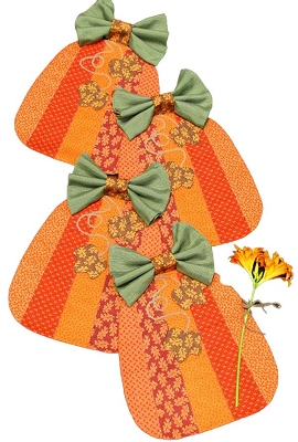 Pumpkin Placemat pattern