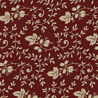 Windham Storytellers Ivy Leaf Burgandy 40800-2