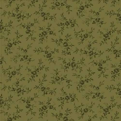 Windham Storytellers Flower Vine Green 40808-7