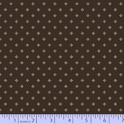 Bristle Creek Farmhouse Shirting Brown 7889-0113