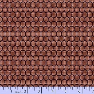 Bristle Creek Farmhouse Honeycomb Red 7890-0111