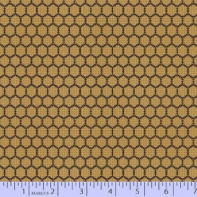 Bristle Creek Farmhouse Honeycomb Gold 7890-0132