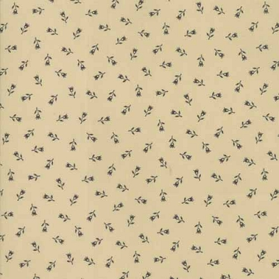 Moda Flower Garden Pie Crust Fancy Tulip Tan