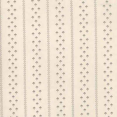 Moda Flower Garden Tallow Clover Stripe Natural