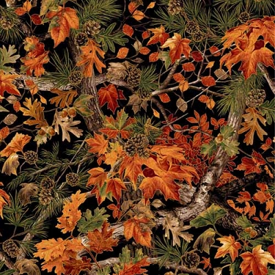 Paintbrush Studio Into the Woods Black w/Leaves 120-11901