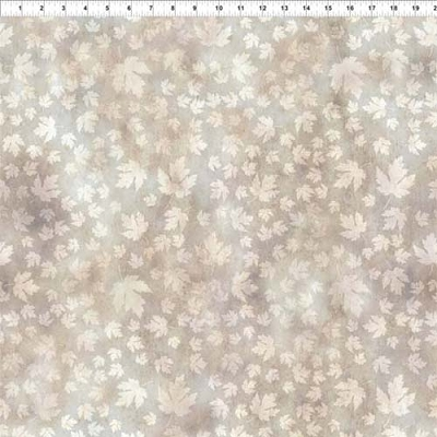 Our Autumn Friends Leaf Tonal Taupe 11-1/2 yard bolt