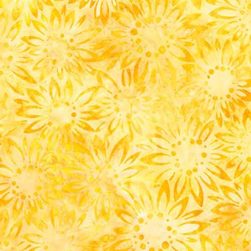Kaufman Artisan Batiks- SUNFLOWER AMD-17824-125