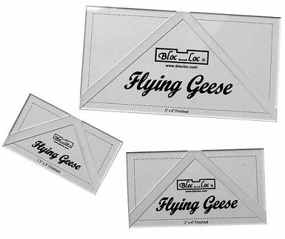 Bloc Loc Flying Geese ruler Set #6