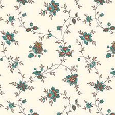 QT Bethel Spaced Floral Vine Cream 26247-E