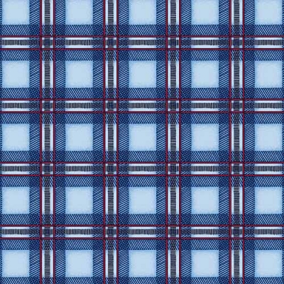 Maywood Cozy Cabin Blue Plaid