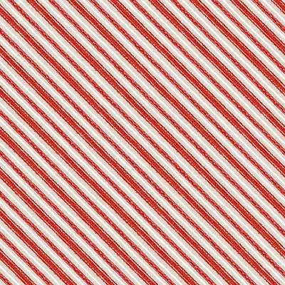 Wilmington Taupe Red Stripe