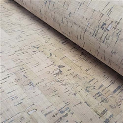 Cork Fabric 12 x 27 milky birch
