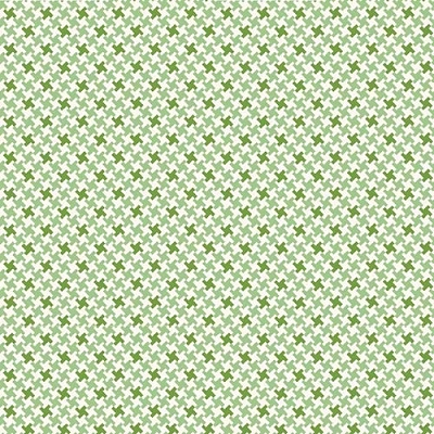 Farm Girl Vintage Houndstooth Green C7882-GREEN