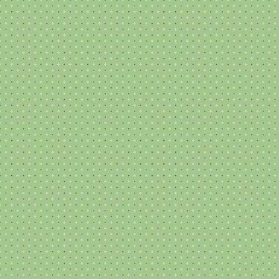 Farm Girl Vintage Calico Green C7884-GREEN