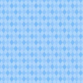 Wilmington Prints Madison Light Blue Diamonds