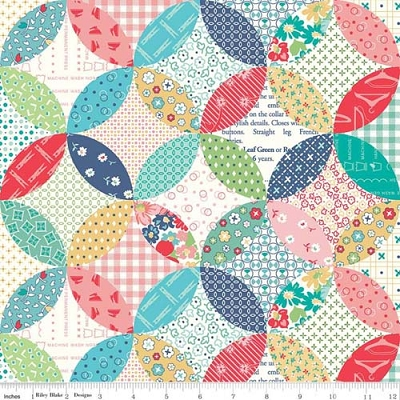 Vintage Happy 2 Quilted Multi C9145-MULT