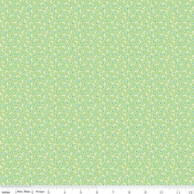 Vintage Happy 2 Tiny Squares Spring Greeen C9132-SPRINGGREEN