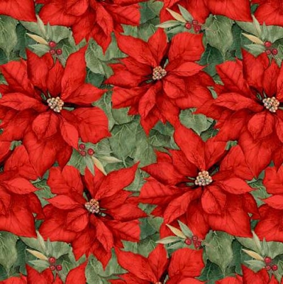 Cardinal Noel Red Poinsettias