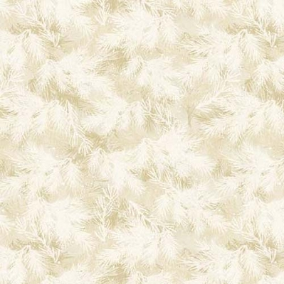 Cardinal Noel Cream Frosted Foliage