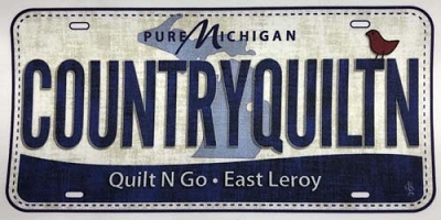 Quilt N Go Fabric Michigan Plate