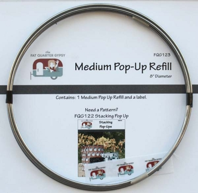 Pop up refill 8 inch