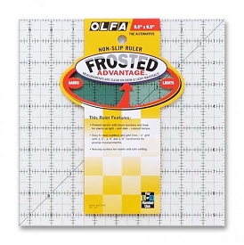 OLFA Frosted Ruler 9 1/2