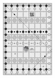 Creative Grids 8-1/2 X 12-1/2 Ruler
