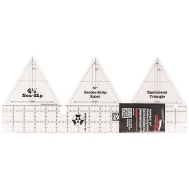 Creative Grids 60 DEGREE Double strip ruler