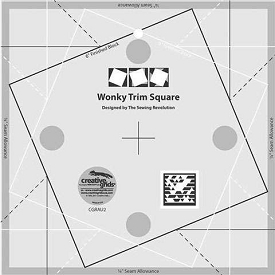 Creative Grids WONKY TRIM SQUARE 8