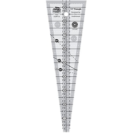 Creative Grids 15 DEGREE wedge ruler
