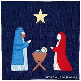 Spring Creek Needleart Nativity Pattern