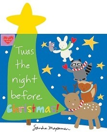 Night Before Christmas Panel Book