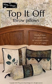 Top It Off throw pillows