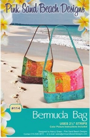 Pink Sand Beach Designs Bermuda Bag