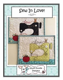 Sew In Love! Mug Rug