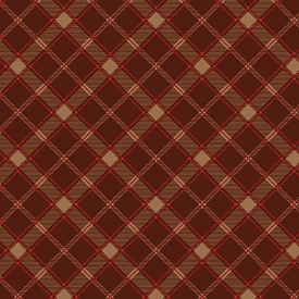 Benartex Lodge Life Rustic Plaid Red Oak