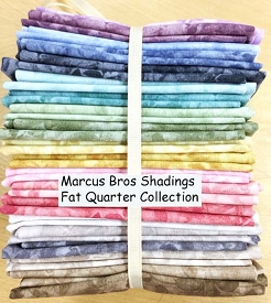 Marcus Bros Fat Quarter Bundle Shadings 20pcs